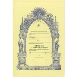 Diploma al Mérito Masónico