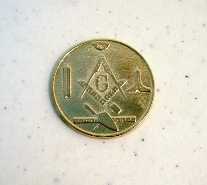 Moneda Masónica