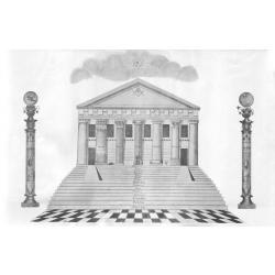 El Templo del Rey Salomón - Frontispicio