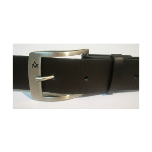 Cinturón de Piel Masónico