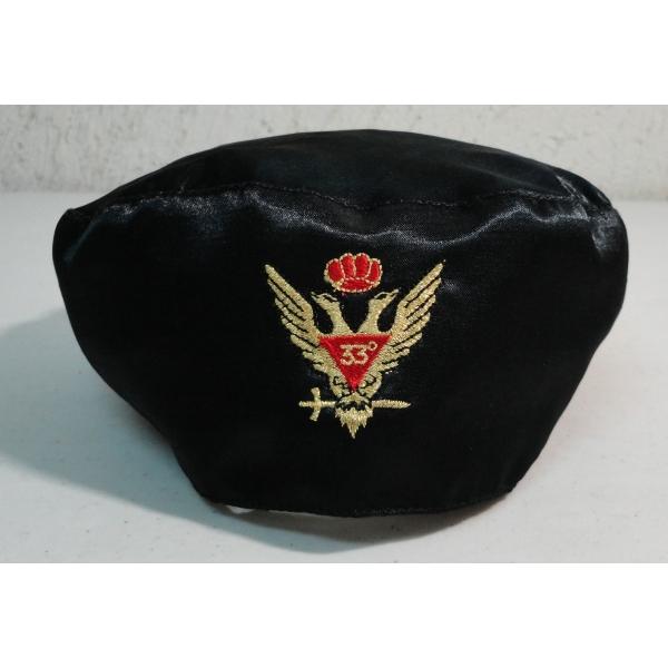Birrete Inspector General de la Orden - Grado 33°