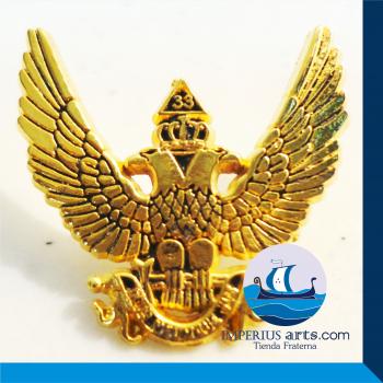 Pin Inspector General de la Orden - Grado 33° Águila Bicéfala Dorado