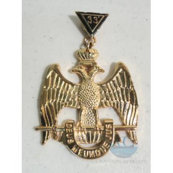 Joya Inspector General de la Orden - Grado 33° (Alas Abajo)