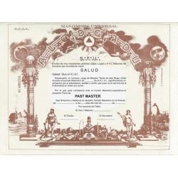 Diploma Past Master