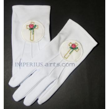 Rosicrucian Knight Gloves Grade 18