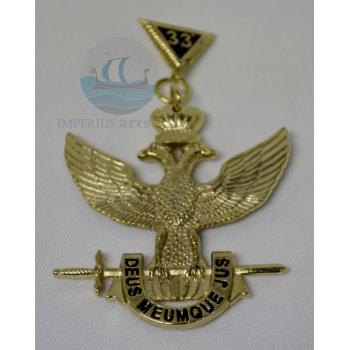 Joya Inspector General de la Orden - Grado 33° (Alas Arriba)