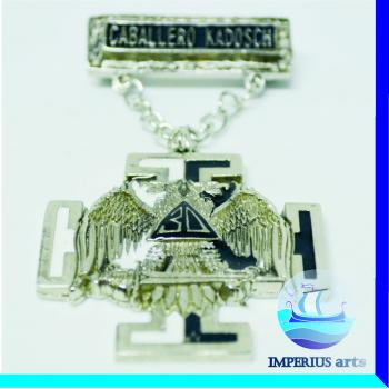 Medalla Caballero Kadosch - Grado 30°