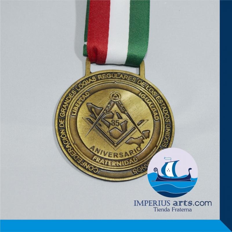 50 Medallas Masónicas Conmemorativas Personalizadas