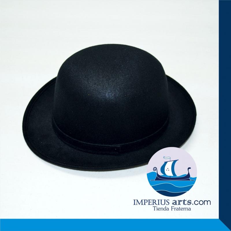 Sombrero Bombín Inglés Maestro Masón