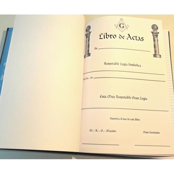 Libro de Actas (Pasta Dura)