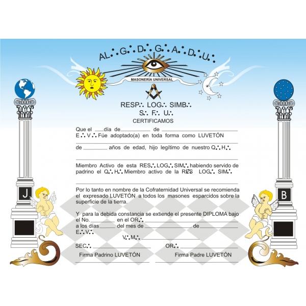 Diploma Luvetón