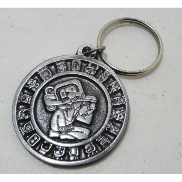 Mayan Calendar Keyring