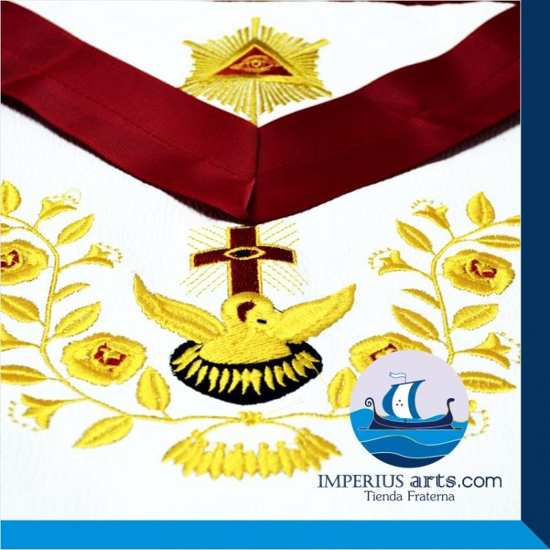Arreos Caballero Rosacruz - Grado 18° REAyA (Piel)